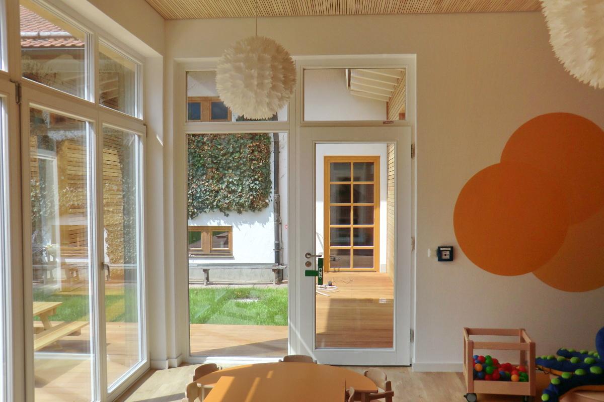 Bauplanung Archtekturbüro Dipl.-Ing.(FH) Georg Doll - Kindergarten Oberammergau 2013 & 2019
