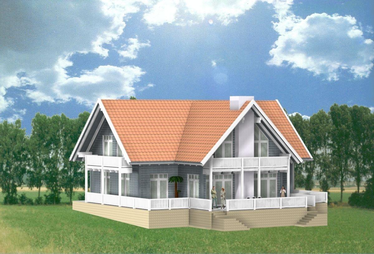 Bauplanung Archtekturbüro Dipl.-Ing.(FH) Georg Doll - CAD Villa Moskau